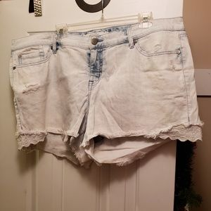 Torrid cut off shorts size 22